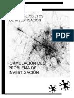Diseño de Objetos de Investigación
