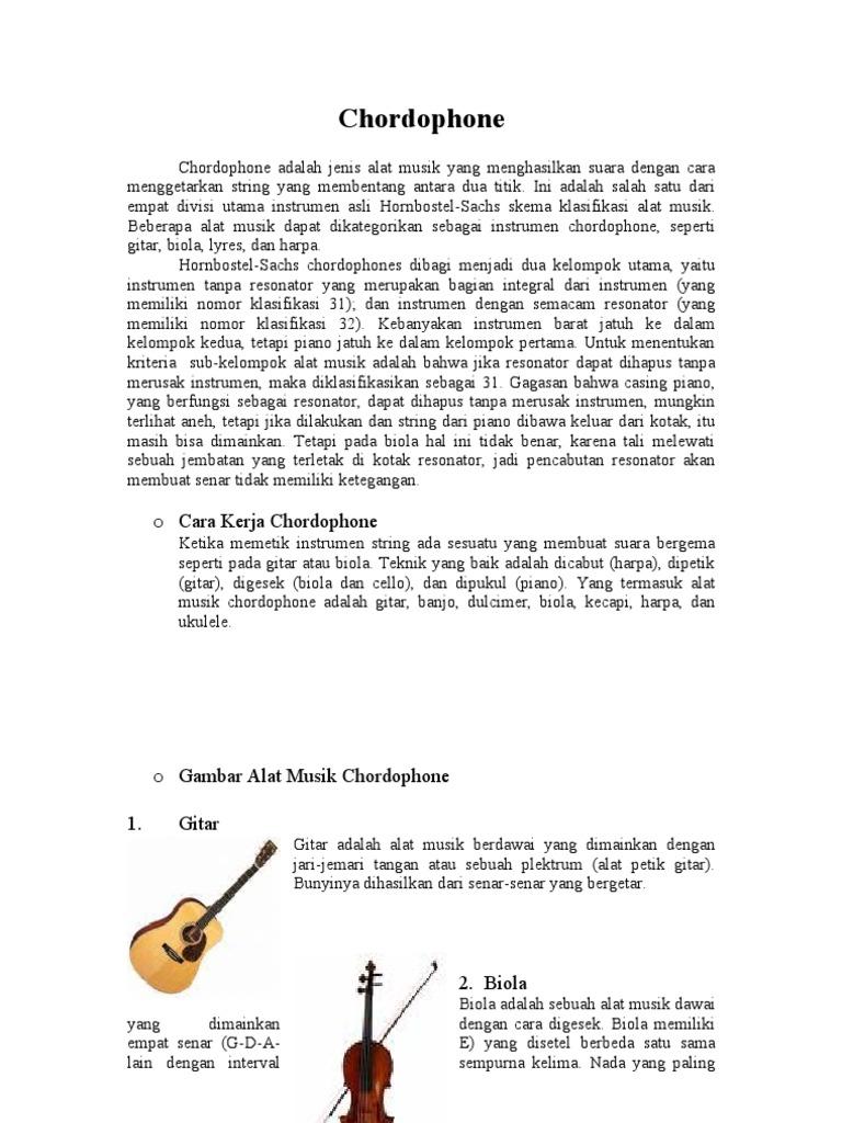 93 Gambar Alat Musik Chordophone
