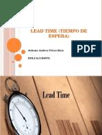 LEAD TIME (TIEMPO DE ESPERA).pptx