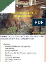 Fisiopatologia de La Reproducción Unidad I y II