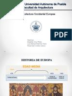 Arquitectura Occidental Europea
