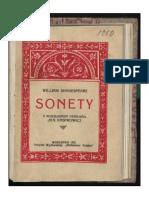 Sonety (Shakespeare, 1922)-Całość