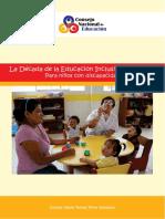 Balance Década Educación Inclusiva