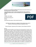 Estudo Preco Lenha e Carvao Vegetal