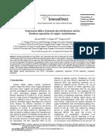 Depression Effect of Pseudo Glycolythiourea Acid in Flotation Separation of Copper–Molybdenum