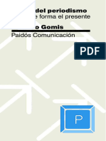 Teoria Del Periodismo Como Se Forma El Presente Lorenzo Gomis