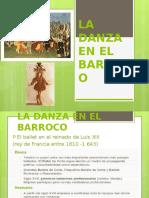 La Danza en El Barroco