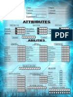 Cyber Character Sheet 1