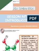 Sesion N_ 01 Introduccion a Quimica Organica