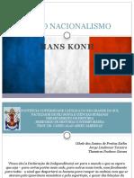 A Era Do Nacionalismo