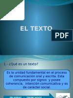 1.- EL TEXTO