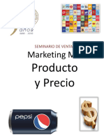 Marketing Mix Produto y Precio