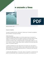 Pesca Con Anzuelo y Línea