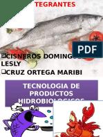 Tecnologia de Productos Hidrobiologicos