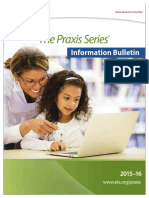 Praxis Information Bulletin