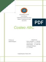 informe costos