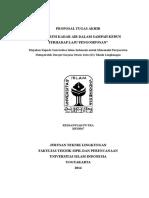 Proposal TA Komposting UII