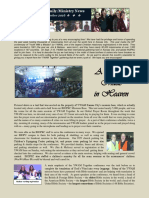 Marcum Family/Ministry Newsletter September 2016