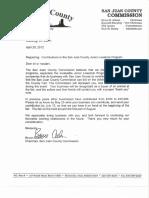 Solicitation letter for Jr. Livestock 2012 #1A