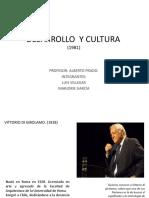 Desarrollo y Cultura.marjorieg,Luisv.
