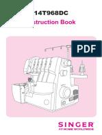 Singer Instruction Book
