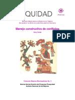 Manejo Constructivo de Conflictos