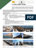 ESC Steel Sheet Pile