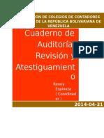 CDA-R19-01 Auditoría Revision y Atestiguamiento ACTUALIZADO JUNIO 2014