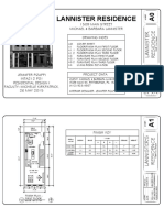INTA212 Residential Design - Lannister Residence