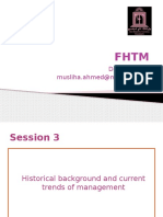 Session 3 - Historical Background and Current Trends