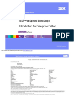 IBM WebSphere DataStage Introduction to Enterprise Edition