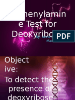 Diphenylamine Test
