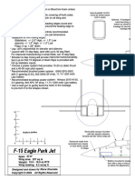 F-15 Park Jet Plans Assembly Drawing Tiled