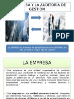 La Empresa y Su Modelo Conceptual