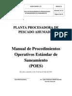 MANUAL DE POES AZIZA EXPORT, S.A. PESCADO AHUMADO.pdf