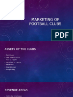 Marketing of Football Clubs