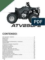Guia Rapida Atv AKT 250