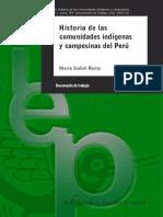 056114-LM Historia de Las Comunidades Nativas y Campesinas en El Perú
