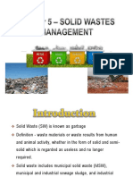 Topic 5 Solid Waste Management