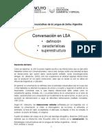 2- Conversación- Superestructura