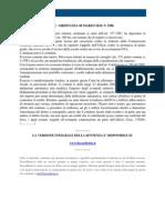 Fisco e Diritto - Corte Di Cassazione Ordinanza n 5586 2010