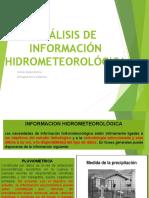 Analisis de Informacion Hidrometeorologica-expo