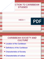 Introduction To Caribbean Studies