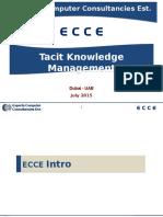 Tacit Knowledge Management 20150707