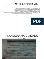 Informe Planograma Marca Exito