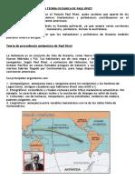 La Teoría Oceánica de Paul Rívet