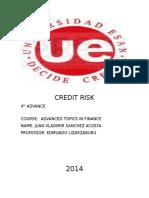 Credit Risk ..