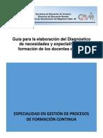 Guía Para La Elaboración Del Diagnóstico EMS