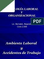 Anbiente Laboral y Accidentes