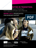 Fostering Change Opportunities in Transition - Report 3 - Opportunities for Increased Support